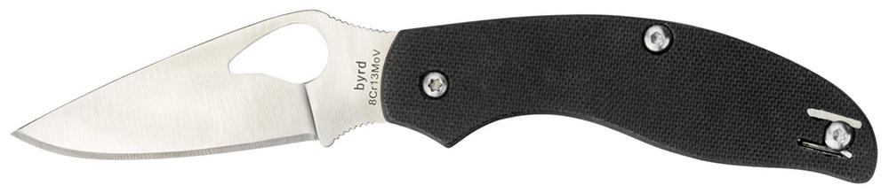 Einhandmesser Spyderco Byrd Tern Griffmaterial G10