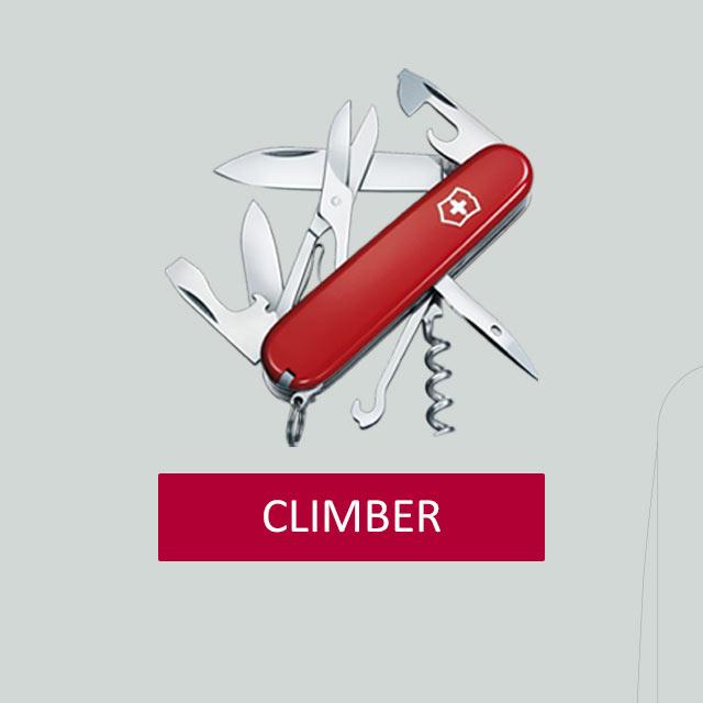 Victorinox-CLIMBER-Taschenmesser-Gravur