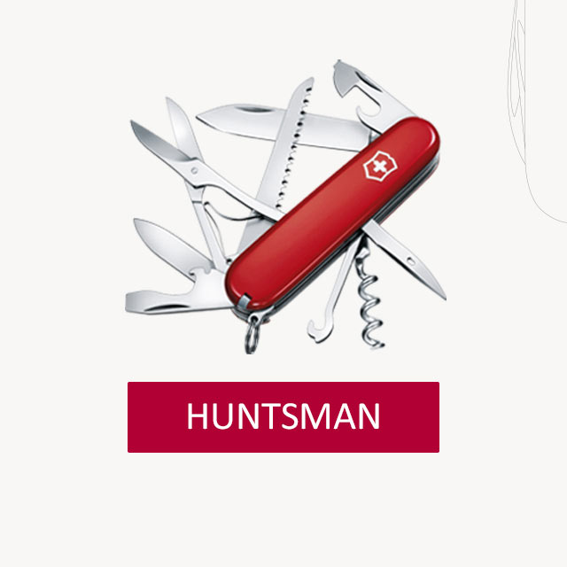 Victorinox-HUNTSMAN-Taschenmesser-Gravur