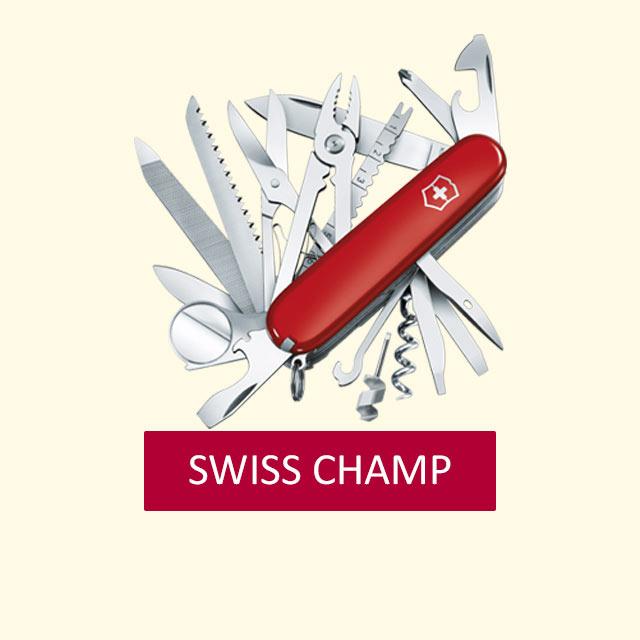 Victorinox-SWISS-CHAMP-Taschenmesser-Gravur